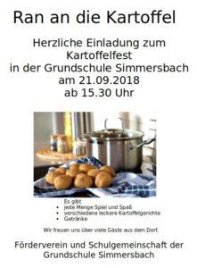 Kartoffelfest @ Grundschule